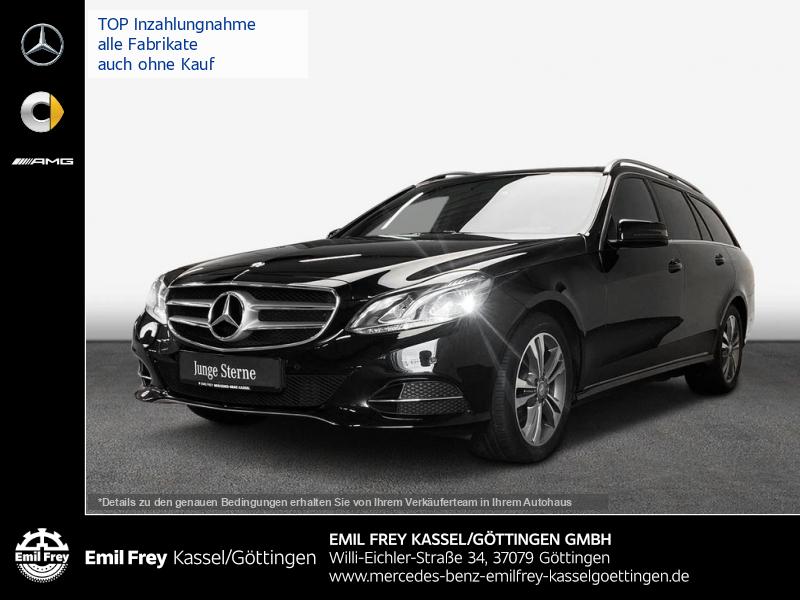 Mercedes-Benz E 220 T BT 9G Avantgarde+AHK+Schbd+EU6+Navi, Jahr 2015, Diesel