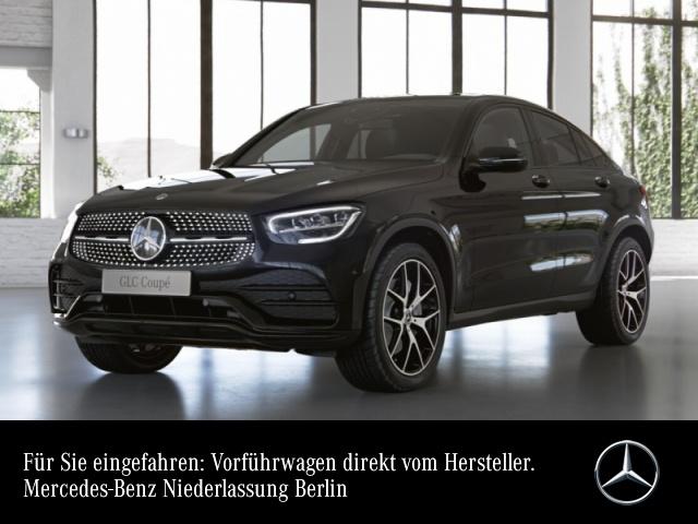 Mercedes-Benz GLC 300 4M Coupé AMG+Night+LED+Kamera+Spur, Jahr 2021, Benzin