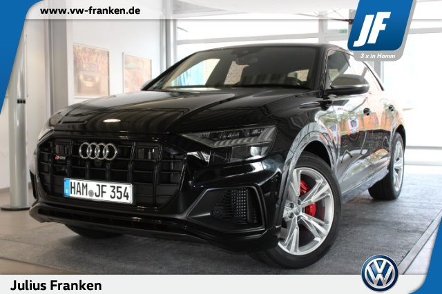 Audi SQ8 ACC Side+Lane Ass AHK Standh Pano Keyless LED, Jahr 2019, diesel