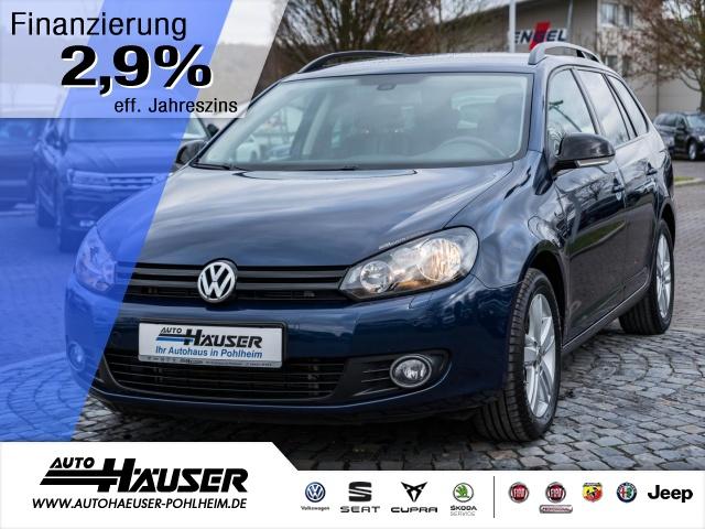 Volkswagen Golf VI Variant 1.6 TDI DPF MATCH NAVI PDC Klima, Jahr 2013, Diesel