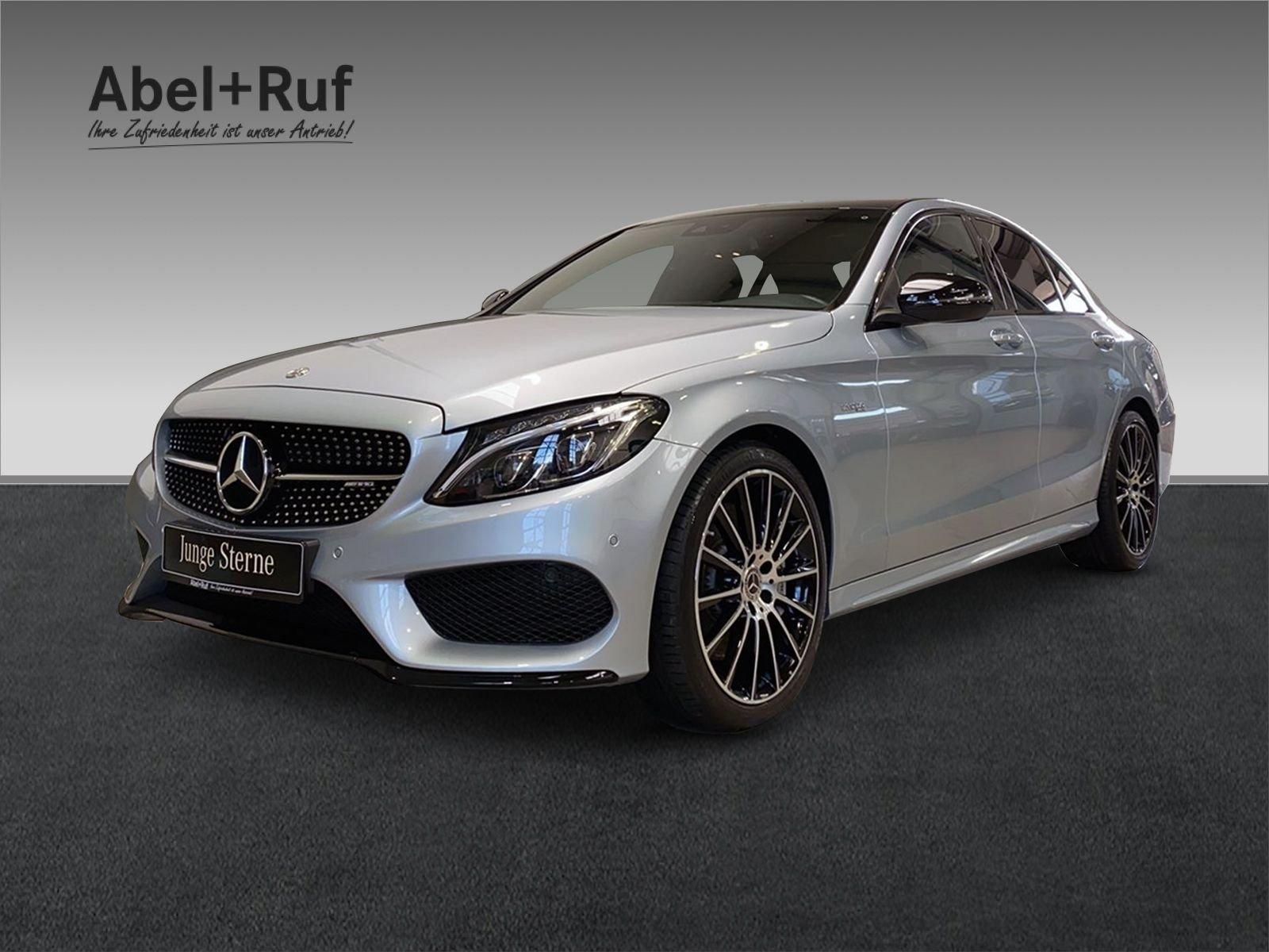 Mercedes-Benz C43 AMG+AMG+Burmester+Pano+Kamera+STHZ+NIGHT+LED, Jahr 2017, Benzin