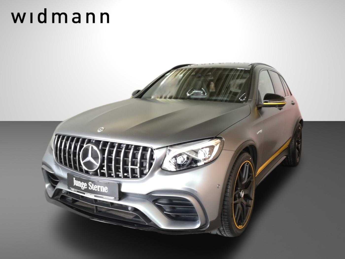 Mercedes-Benz GLC 63 AMG S 4MATIC+ *Edition 1*Perf. Sitze*Pano, Jahr 2018, Benzin
