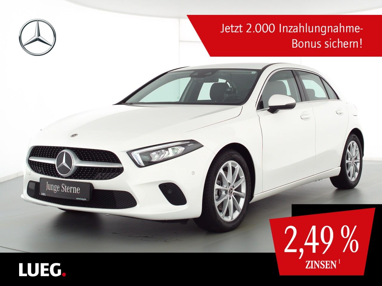Mercedes-Benz A 180 d Progressive+MBUXHighEnd+LED-HP+TotwA+RFK, Jahr 2021, Diesel