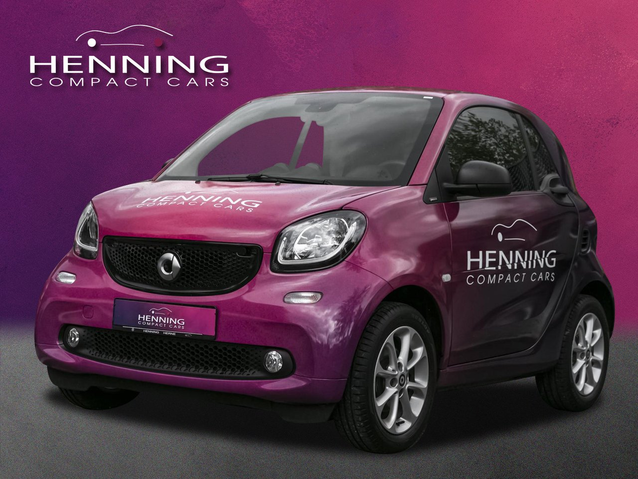 smart fortwo coupe passion (66kW) Klima LED Pano Sitzh, Jahr 2019, Benzin
