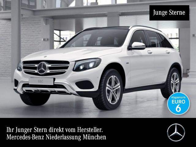 Mercedes-Benz GLC 350 e 4M AMG Fahrass Pano Distr. ILS LED AHK, Jahr 2017, petrol