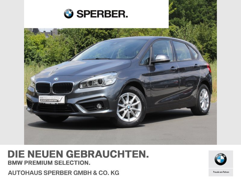 BMW 216d Active Tourer Advantage LED Navi Tempomat, Jahr 2016, diesel