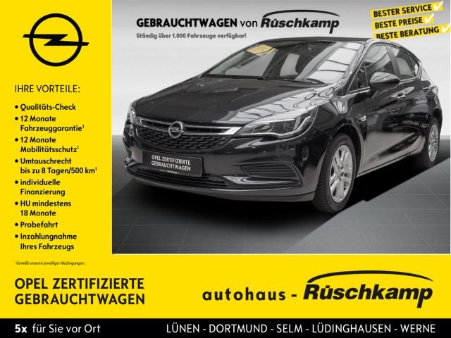 Opel Astra K 5türig Edition Start Stop 1.0 Turbo PDCv+h LED-Tagfahrlicht Multif.Lenkrad RDC, Jahr 2015, Benzin