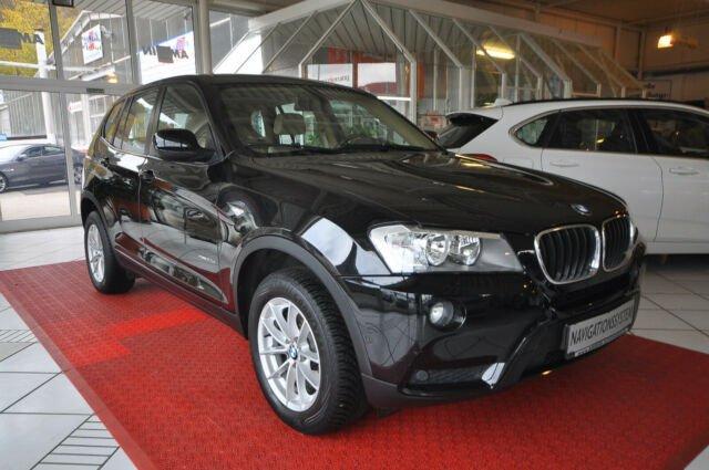 """BMW X3 xDrive20d """"Vollleder/Navi/PDC/SHZ"""", Jahr 2013, Diesel"""