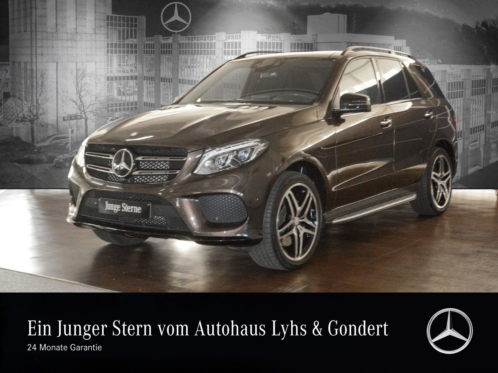 Mercedes-Benz GLE 500 4M AMG Comand Distronic Pano.-Dach 360°, Jahr 2016, petrol