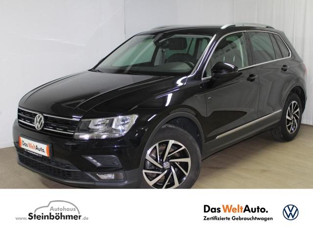 Volkswagen Tiguan JOIN 2.0TDI DSG 4M NaviPro AID ACC SHZ 17, Jahr 2018, Diesel