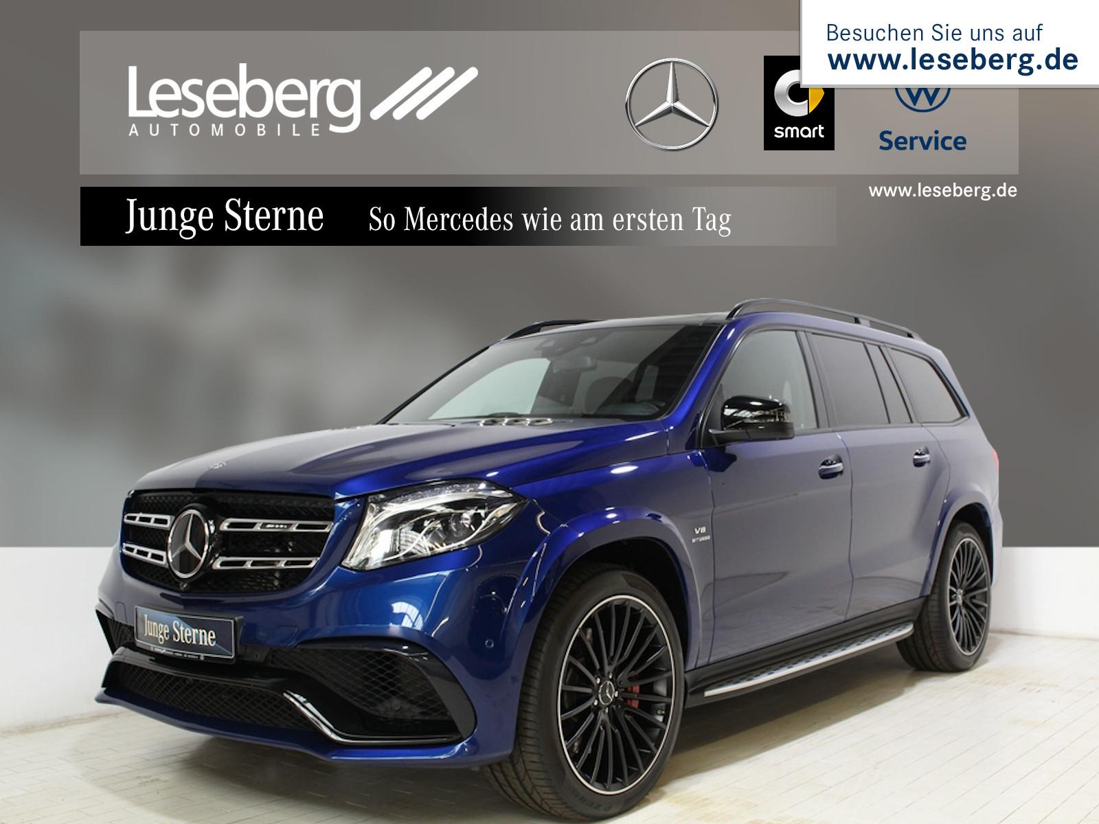 Mercedes-Benz Mercedes-AMG GLS 63 4M Night/Pano/Distr/360°/B&O, Jahr 2019, Benzin