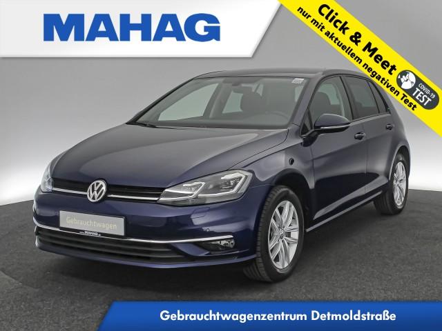 Volkswagen Golf VII 1.6 TDI Comfortline Navi LED ergoActive 5-Gang, Jahr 2019, Diesel