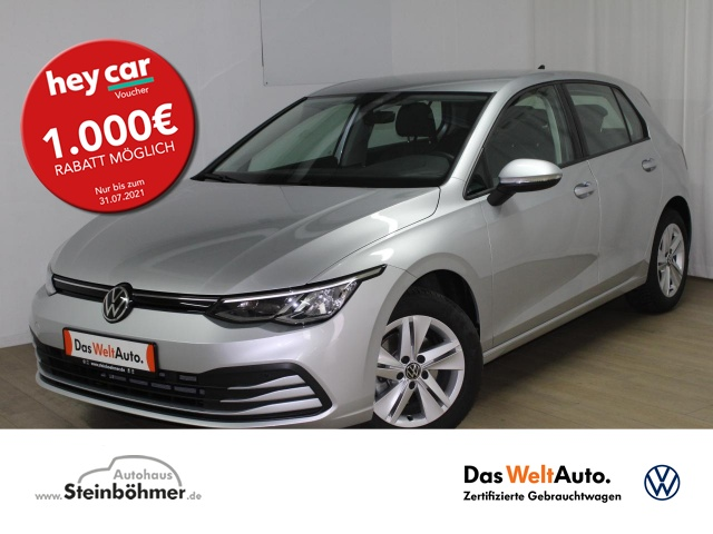 Volkswagen Golf Life 1.5TSI NaviPro LED AHK Sitzhzg. MFLL, Jahr 2020, Benzin