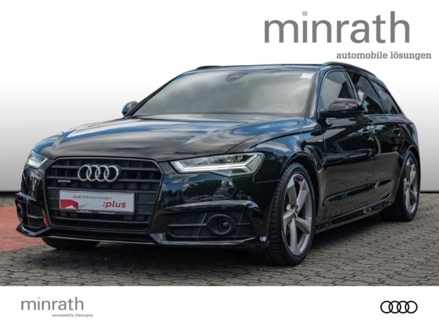 Audi A6 Avant 2.0 TDI quattro Black Edition S line Leder LED Navi Keyless HUD ACC Rückfahrkam., Jahr 2018, Diesel