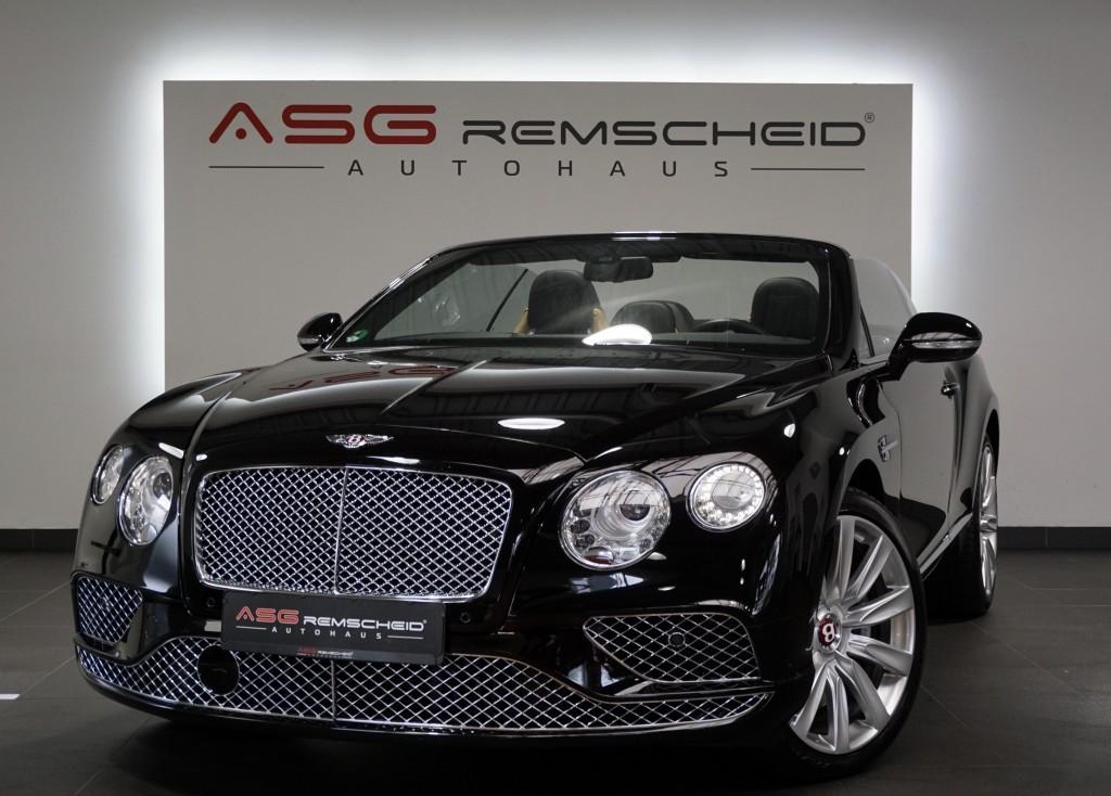 Bentley Continental GTC V8 *21 *ACC *Massagen *DE Fzg*, Jahr 2015, Benzin