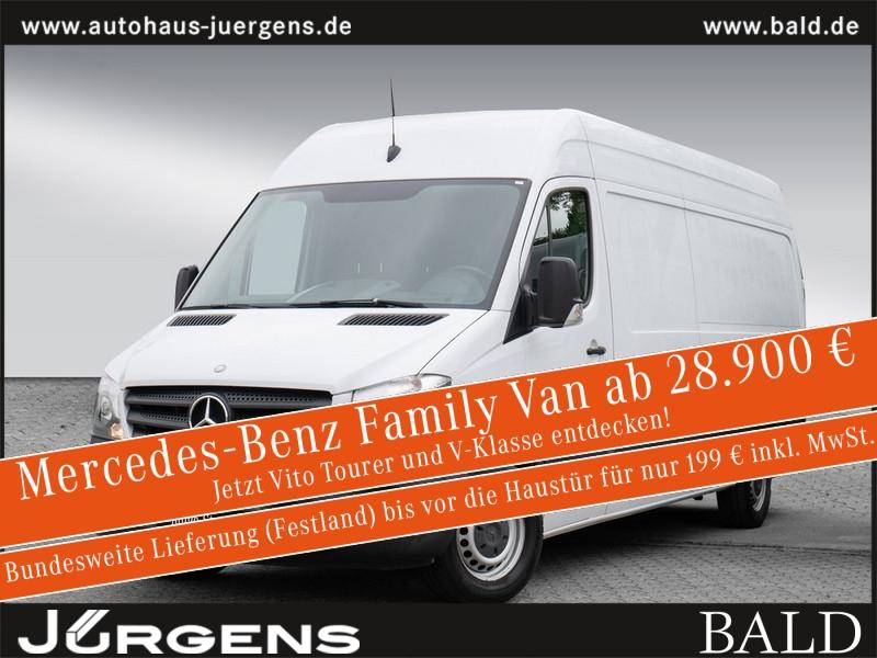 Mercedes-Benz Sprinter 316 CDI Kasten hoch Beifahrerdoppelsitz, Jahr 2015, Diesel