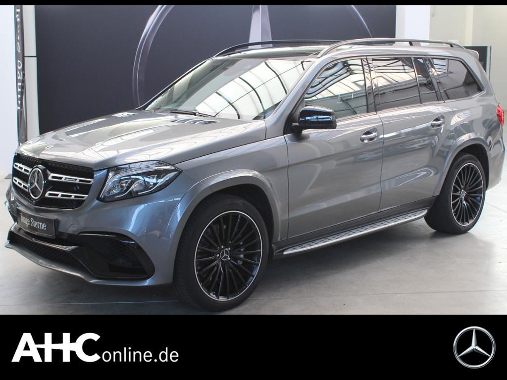 Mercedes-Benz GLS 63 AMG 4M DISTRONIC+SITZKLIMA+STANDH.+PANOR., Jahr 2017, Benzin