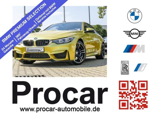 BMW M4 Coupe M DKG Navi Prof. M Drivers Package PDC, Jahr 2017, Benzin