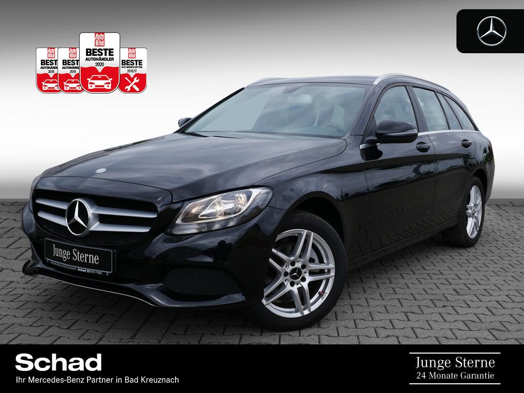 Mercedes-Benz C 200 d T +NAVI+SHZ+KLIMAAUTOM.+EASY PACK+TEMPOM, Jahr 2016, Diesel