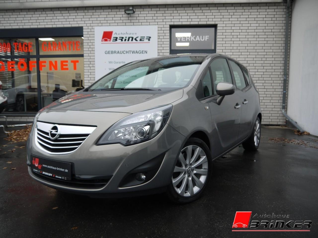 Opel Meriva B 1.4 Innovation PDC v+h,SHZ, Jahr 2013, Benzin