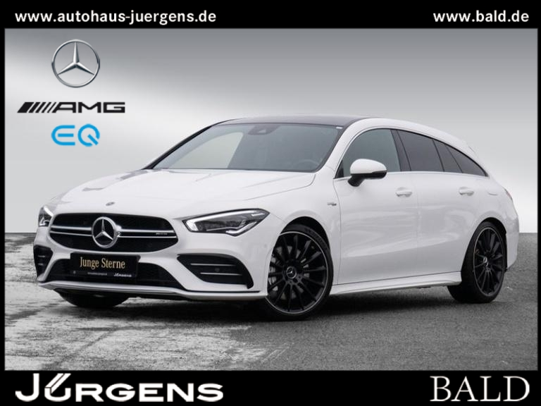 Mercedes-Benz CLA 35 AMG 4M SB Navi-Prem/ILS/Pano/Cam/Stdhz/19, Jahr 2019, Benzin
