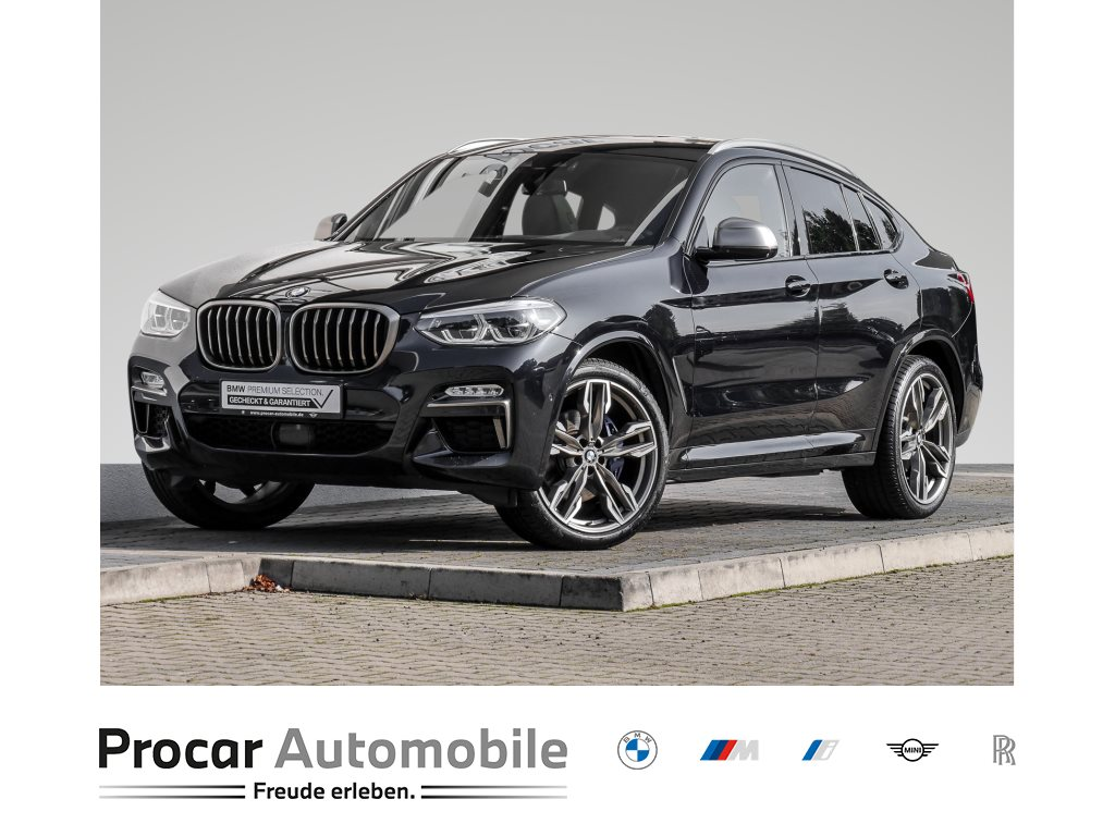 BMW X4 M40d AHK 21 Zoll Pano Navi Standheizung LED HUD, Jahr 2018, Diesel