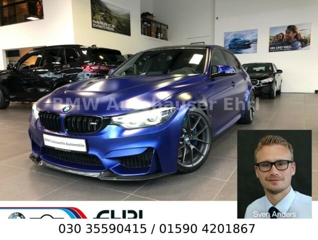 BMW M3 CS FROZEN HeadUp Kamera el.Sitze LED SpeedLim, Jahr 2018, petrol