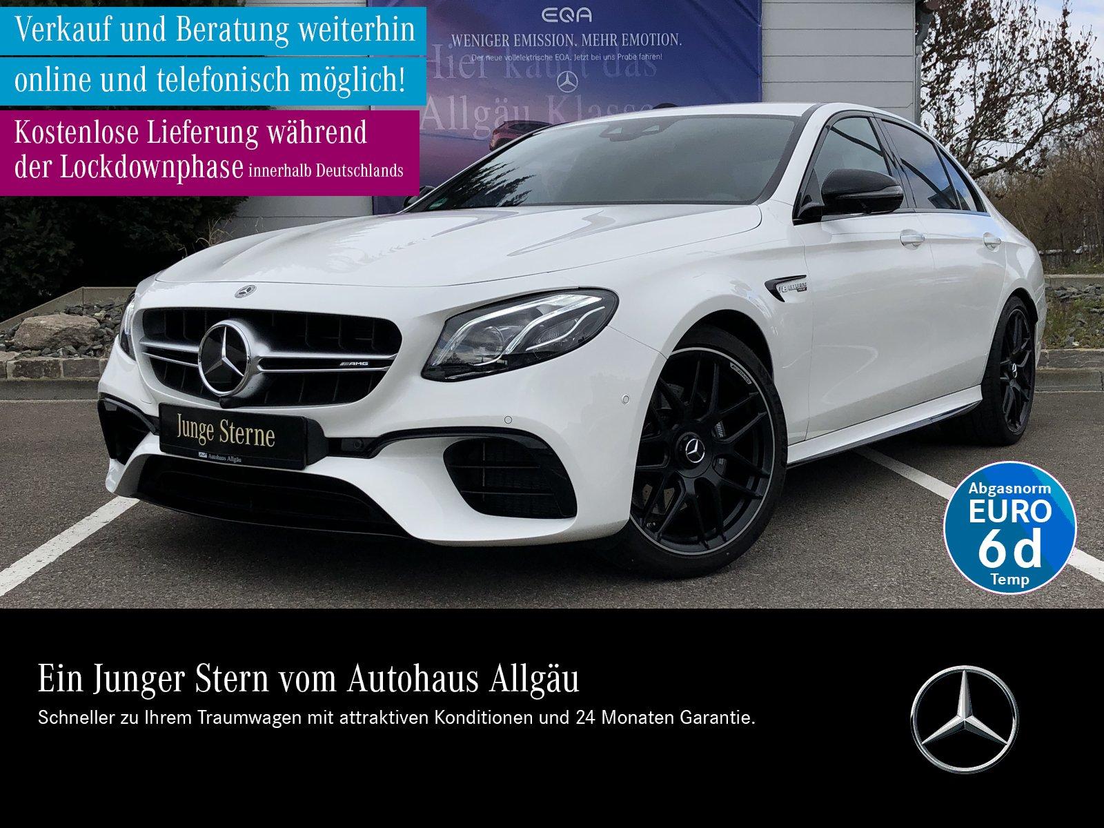 Mercedes-Benz AMG E 63 4MATIC+ MULTIBEAM PERFORMANCE AGA AHK, Jahr 2019, Benzin
