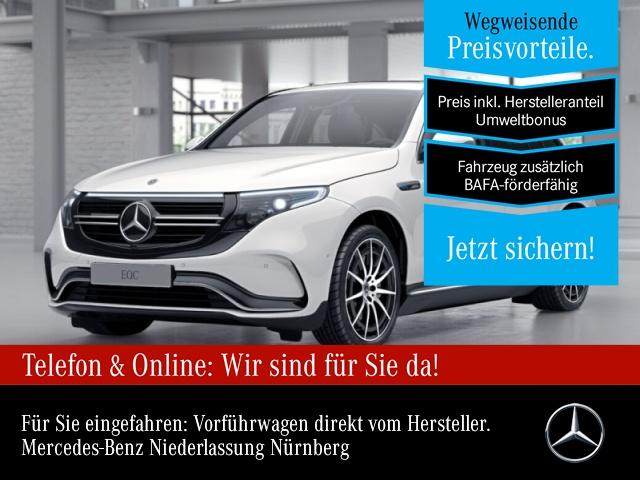 Mercedes-Benz EQC 400 4MATIC Service AMG Multibeam Burmester SHD, Jahr 2021, Elektro