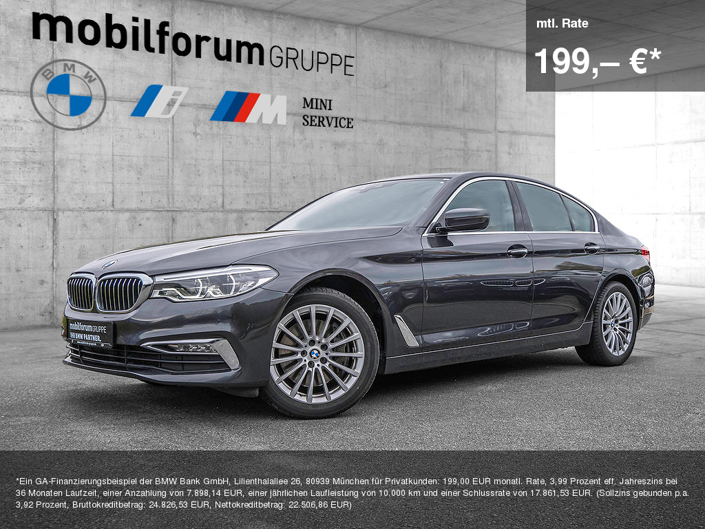 BMW 540d xDrive Luxury Line, Jahr 2017, Diesel
