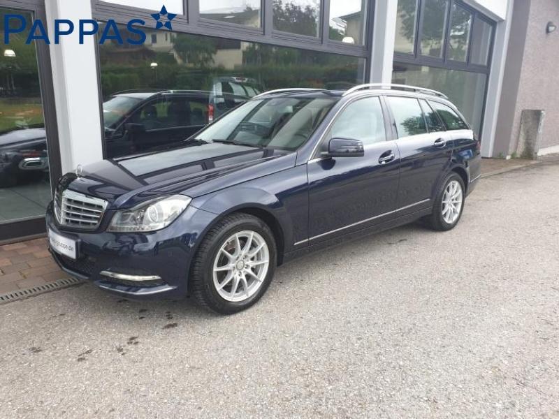 Mercedes-Benz C 200 CGI T Elegance+AHK+Fahrassistenz+Klima, Jahr 2012, Benzin