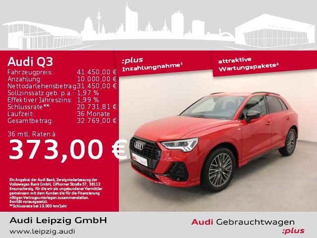 Audi Q3 35 TFSI S-tronic *S-line*LED*Navi*AHK*, Jahr 2020, Benzin