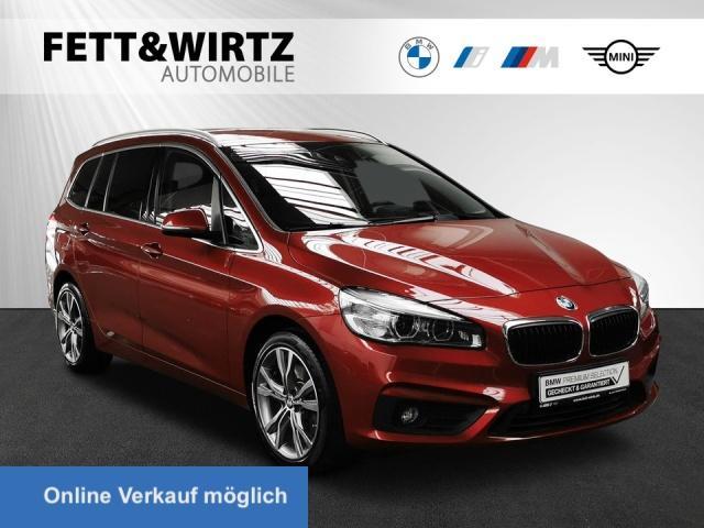 BMW 220 Gran Tourer Sport Aut. DA+ Kamera LED HUD, Jahr 2015, Benzin