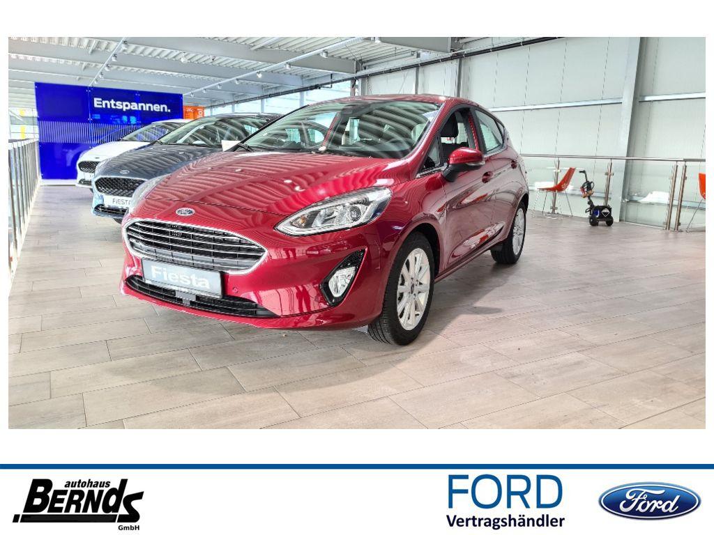 Ford Fiesta 1.0 EcoBoost TITANIUM WINTER-P SYNC3 ACC, Jahr 2020, Benzin