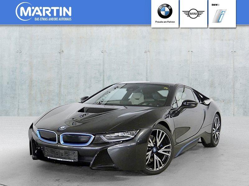 BMW i8 Head-Up* HK* HiFi* LED* Navi Prof.* el. Sitze* Shz*, Jahr 2014, Hybrid