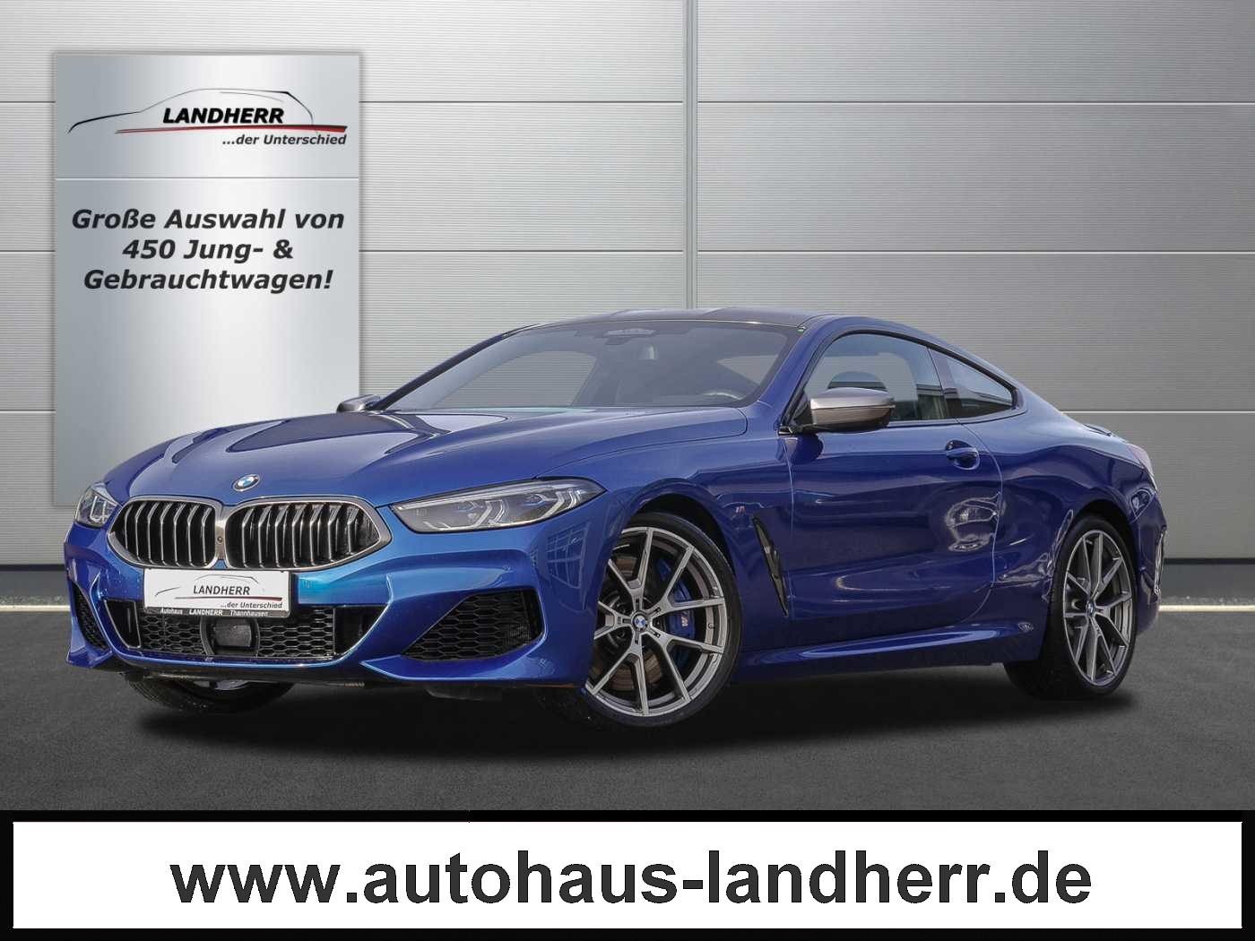 BMW M850i Coupe xDrive // Laserlicht/Carbon Dach, Jahr 2019, petrol