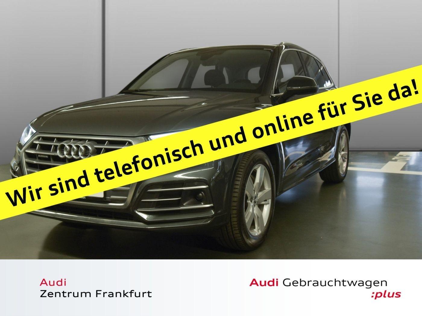 Audi Q5 2.0 TDI quattro S tronic S line LED Navi PDC Sitzheizung, Jahr 2018, Diesel