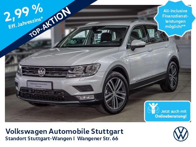 Volkswagen Tiguan Comfortline 1.4 TSI Navi AHK Stdhz. Leder, Jahr 2016, Benzin