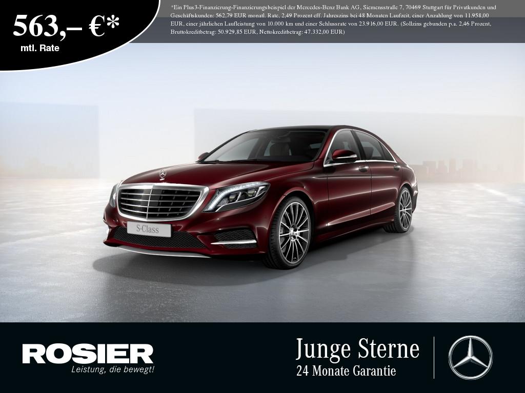 Mercedes-Benz S 350 d 4M L AMG Sport PLUS, Jahr 2017, Diesel