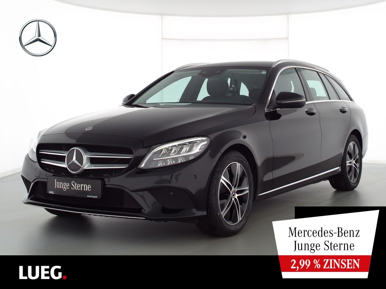 Mercedes-Benz C 220 d T Avantgarde+Nav+LED-HP+SpurP+AHK+Kamera, Jahr 2020, Diesel