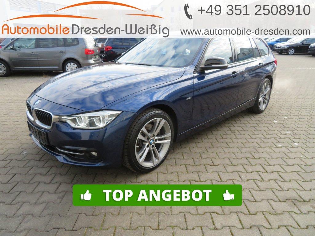 BMW 325 d Touring Sport Line*Navi Prof*Leder*LED*, Jahr 2017, Diesel