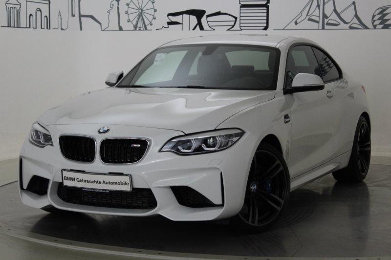 BMW M2 Coupé HK HiFi DAB LED Navi Prof. RTTI Alarm, Jahr 2017, Benzin