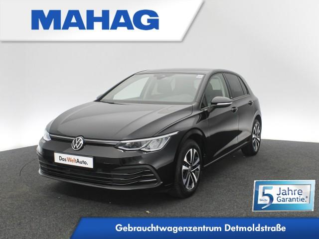 Volkswagen Golf VIII 1.0 TSI UNITED Navi LED DigitalCockpitPro AppConnect Sitzhz. ParkPilot LightAssist FrontAssist 16Zoll 6-Gang, Jahr 2021, Benzin