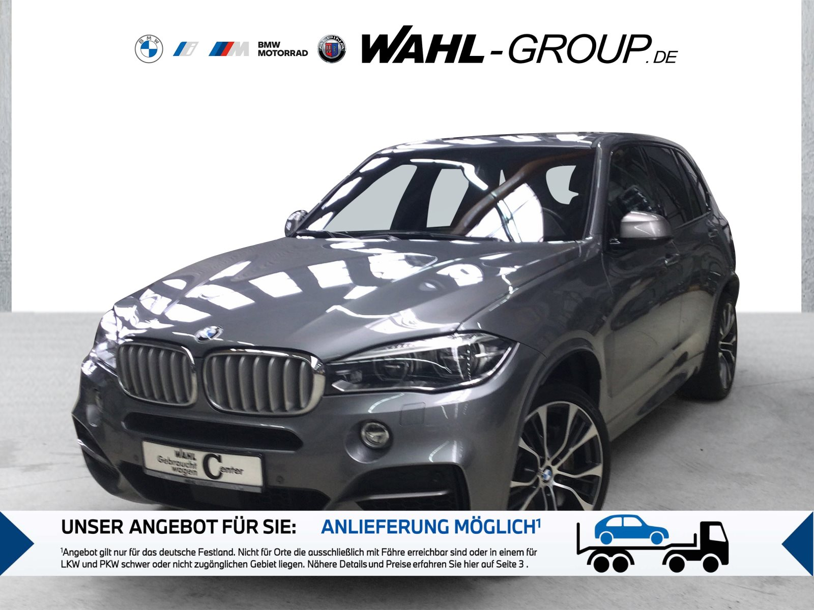 BMW X5 M50d M Sportpaket Head-Up HK HiFi DAB LED, Jahr 2018, Diesel