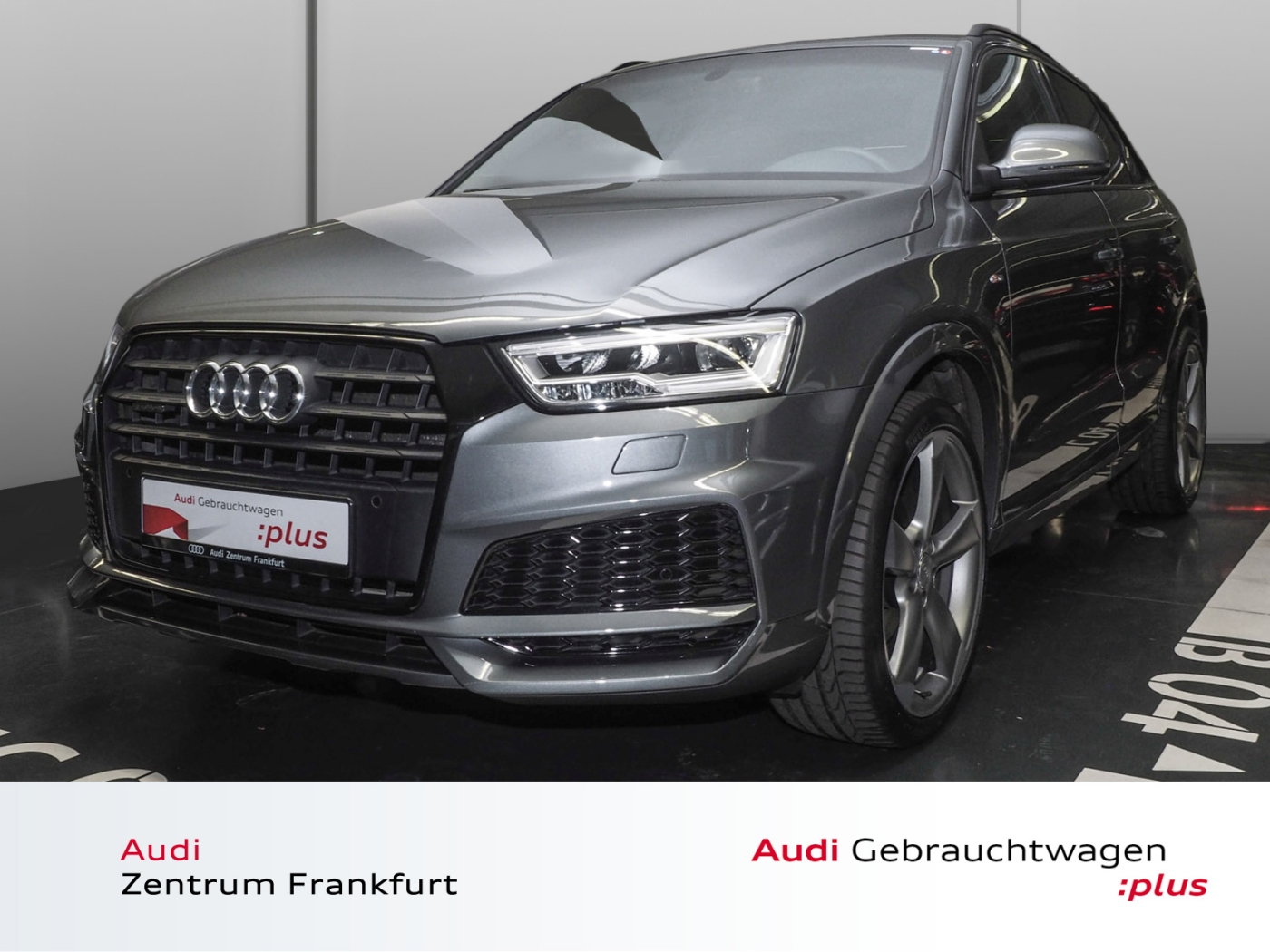 Audi Q3 2.0 TFSI quattro S tronic S line design Navi, Jahr 2017, Benzin