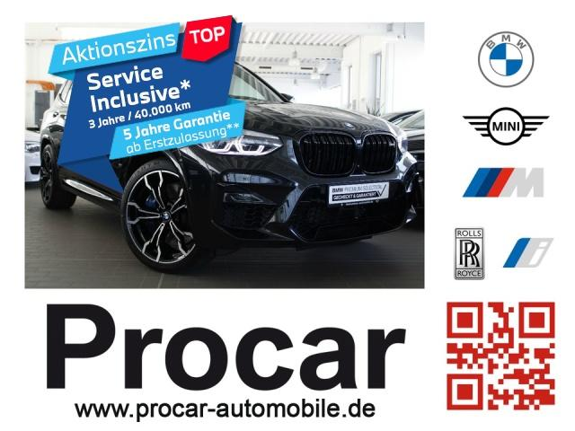 bmw x3 m competition da pa pano led 21 lm headup, jahr 2019, benzin