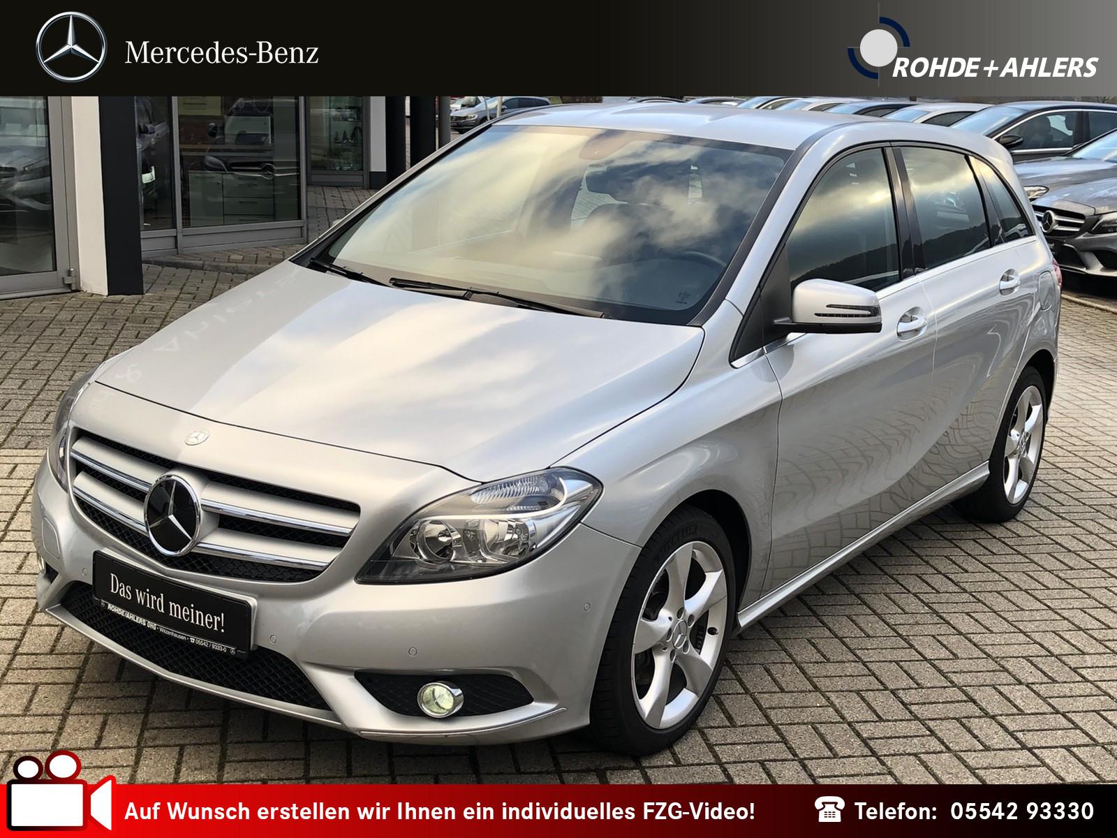 Mercedes-Benz B 200 cdi AUTOMATIK+SPORTPAKET+SITZHEIZUNG Klima, Jahr 2013, diesel