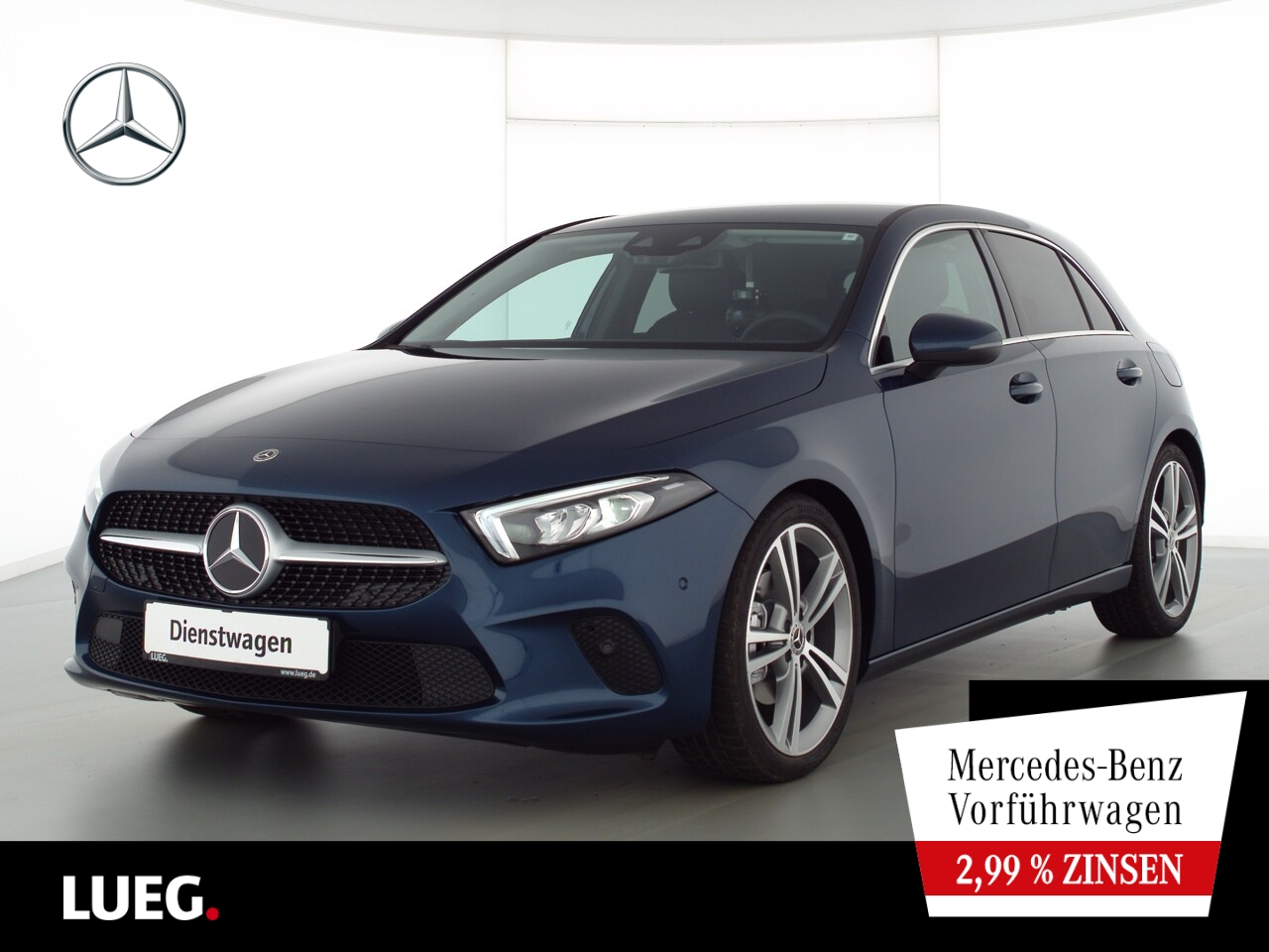 Mercedes-Benz A 200 d PROGRESSIVE+19''+TOTW.+SOUND+KAMERA+LED, Jahr 2021, Diesel
