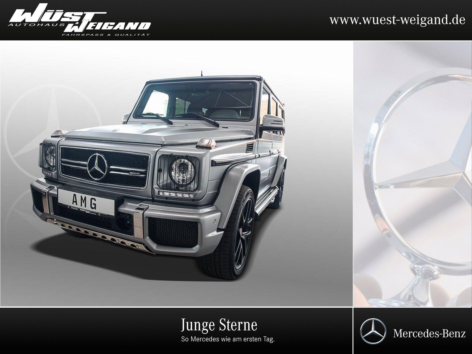 Mercedes-Benz G 63 AMG Comand+Distronic+AHK+Driver+PTS+Kamera, Jahr 2017, Benzin