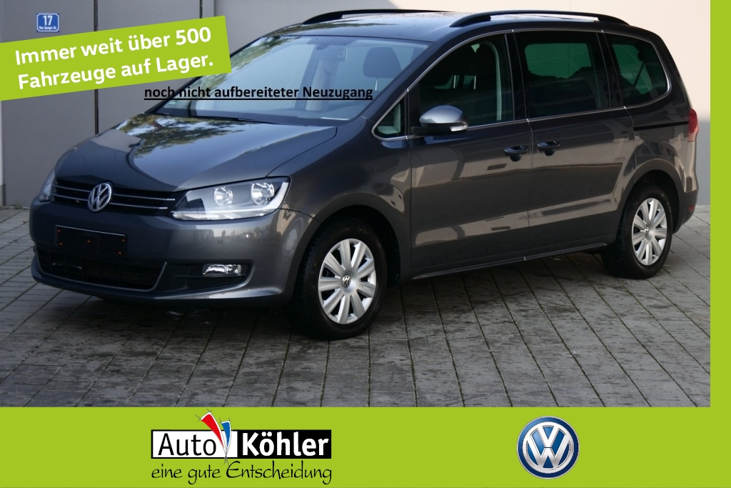 Volkswagen Sharan Comfortline TDi Airbag 11x incl Seitenair, Jahr 2012, Diesel